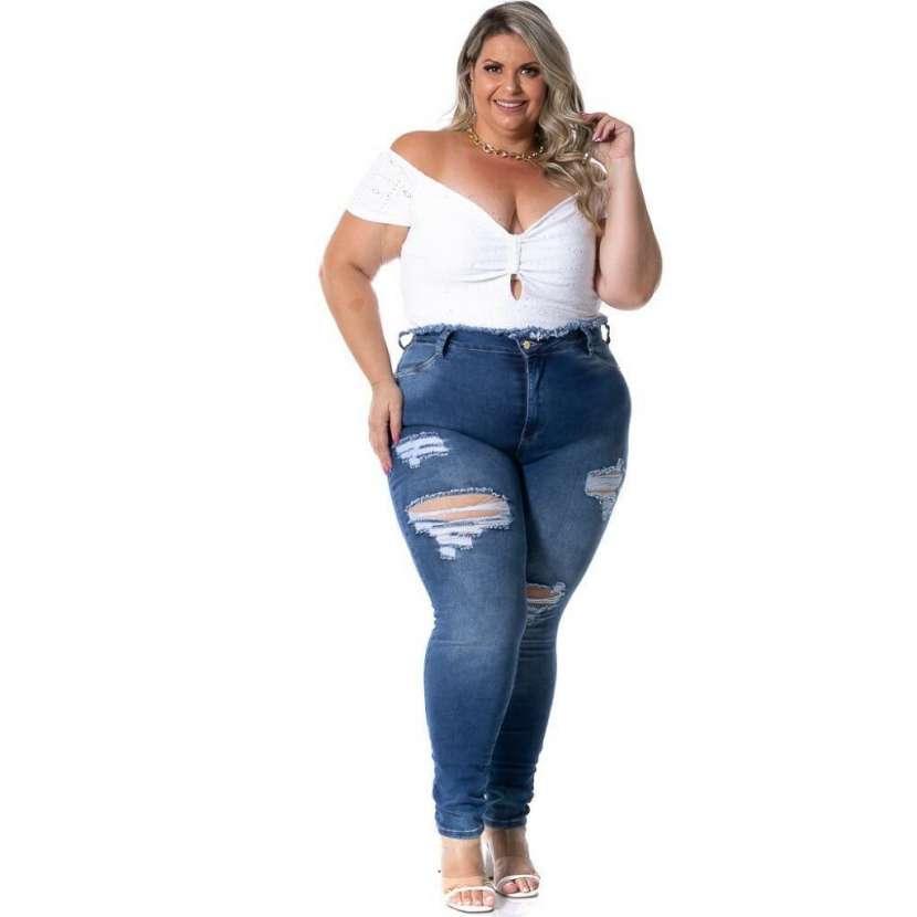Jeans brasilero talle plus LEGIAO71861 - 0