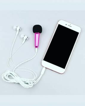 Auricular + mini micrófono para celular
