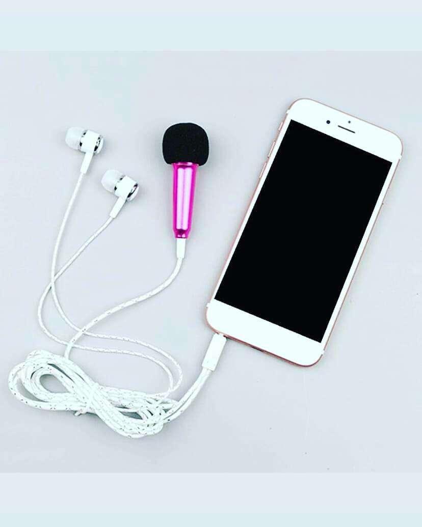 Auricular + mini micrófono para celular - 0