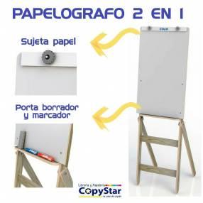 Papelógrafo 2 en 1