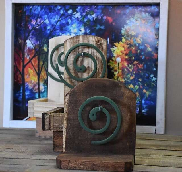 Porta espirales - 1