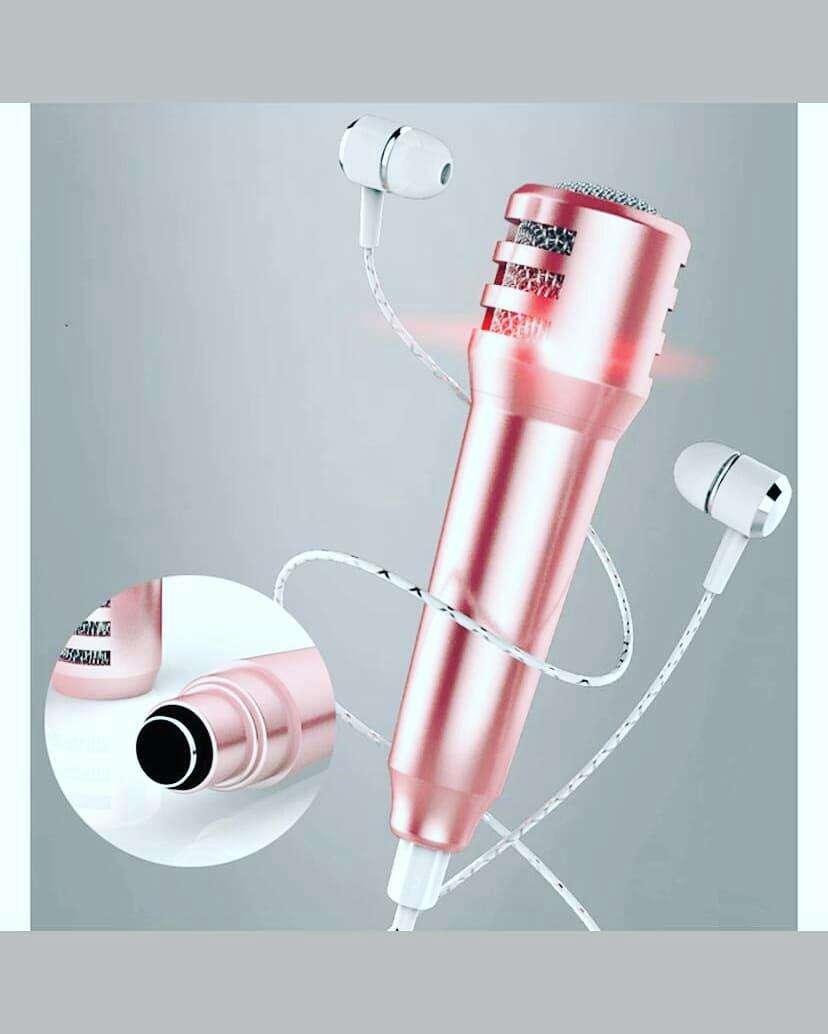 Auricular + mini micrófono para celular - 1