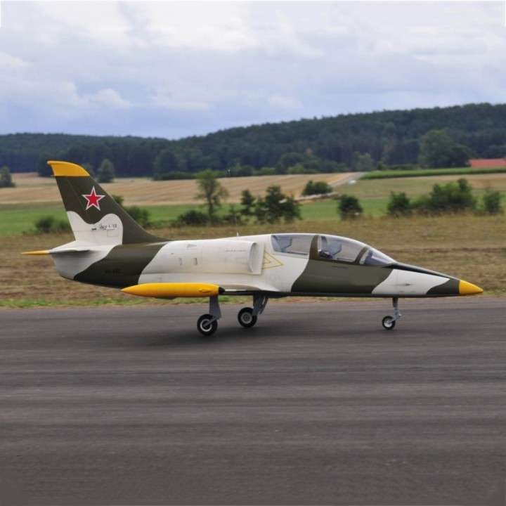 Avión Jet Legend L-39 gray control remoto - 1