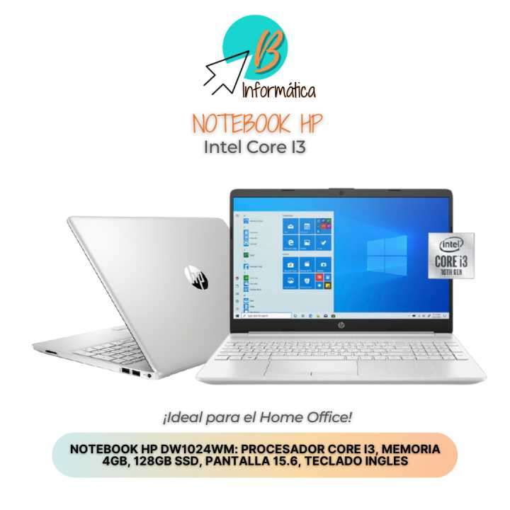 Notebook HP de 15.6 pulgadas - 0