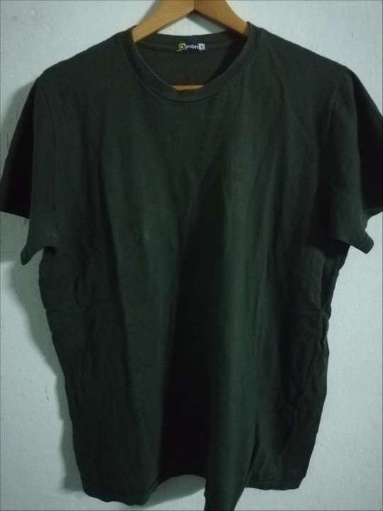Remera color verde talle G - 0