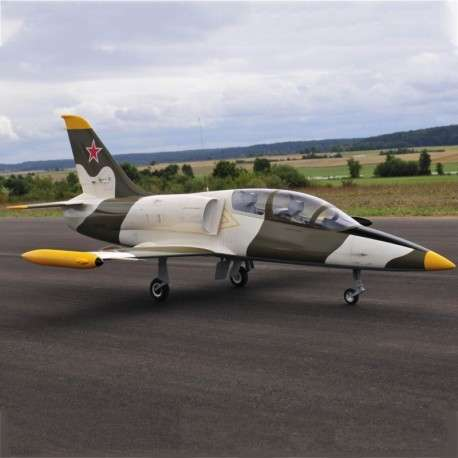 Avión Jet Legend L-39 gray control remoto - 0