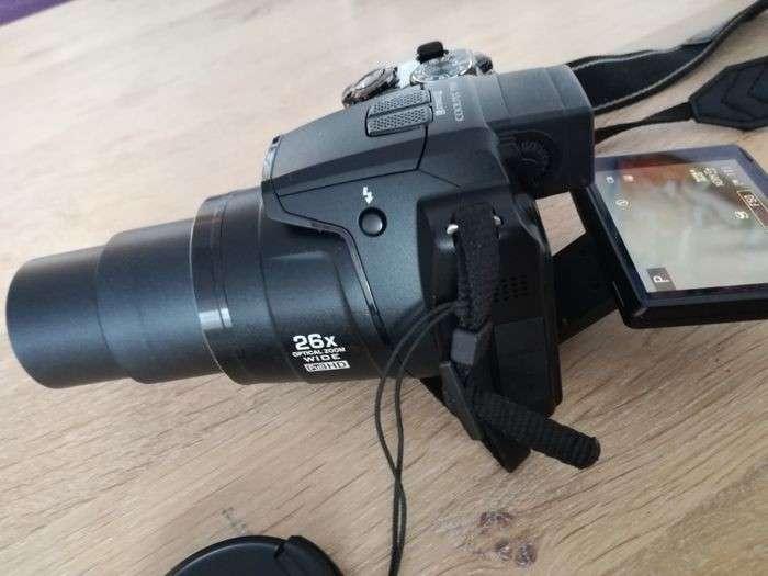 Cámara semi profesional Nikon Coolpix P100 con filmadora HD - 1