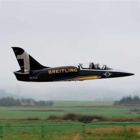 Avión Jet Legend L-39 Breitling control remoto - 1