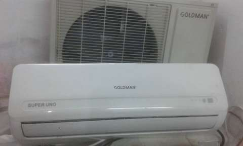 Aire acondicionado Goldman de 12.000 btu - 0