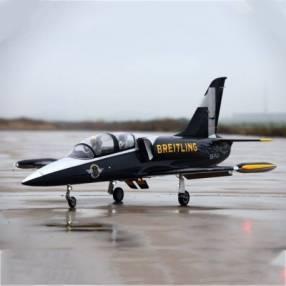 Avión Jet Legend L-39 Breitling control remoto