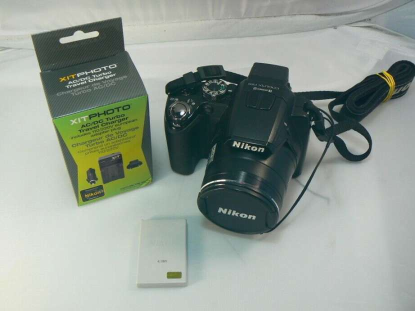 Cámara semi profesional Nikon Coolpix P100 con filmadora HD - 4