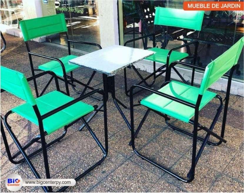 Juego de sillón plegable tela (27331781) - 0