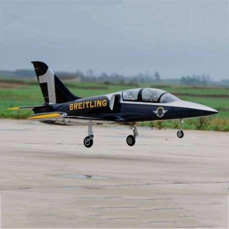 Avión Jet Legend L-39 Breitling control remoto - 2