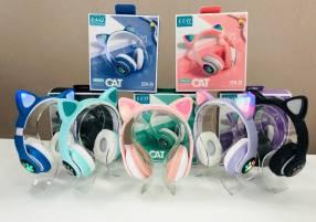 Auriculares inalámbricos de gatito Luo