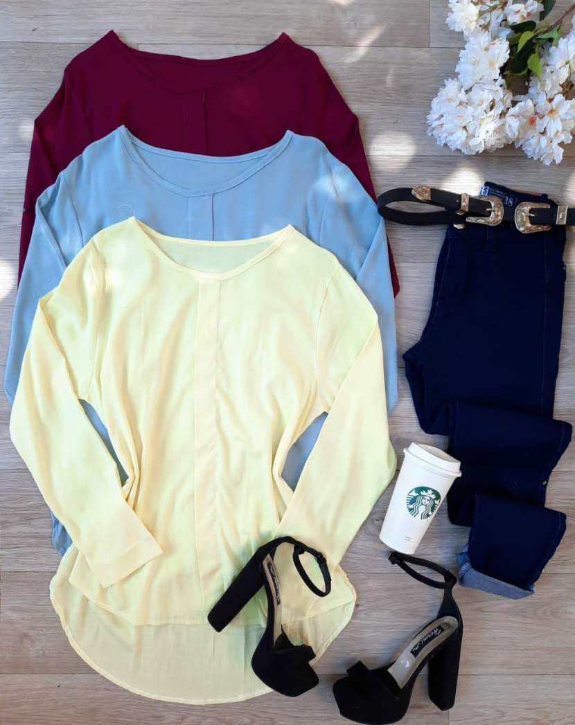 Combo blusa + jeans - 1