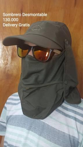 Sombrero desmontable