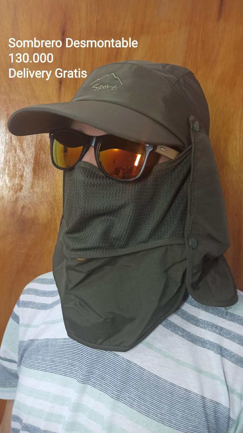 Sombrero desmontable - 0