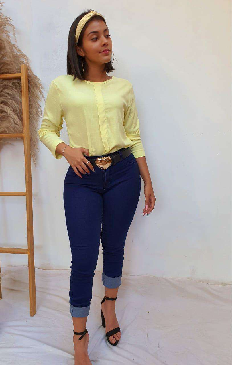 Combo blusa + jeans - 2