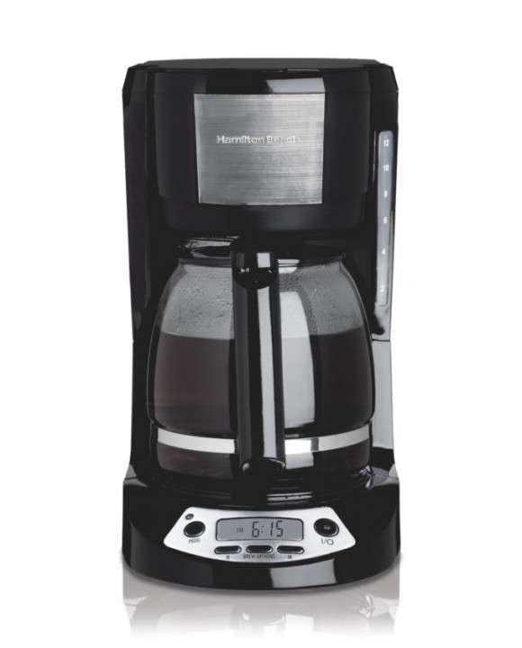 Cafetera programable Hamilton para 12 tazas - 1