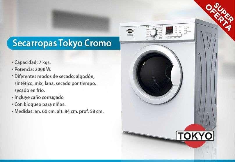 Secarropas Tokyo Cromo TOK7CRO - 0