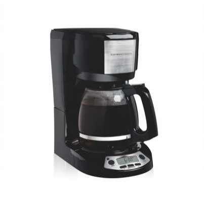 Cafetera programable Hamilton para 12 tazas - 0