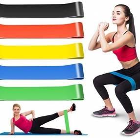 Bandas elásticas para ejercicios