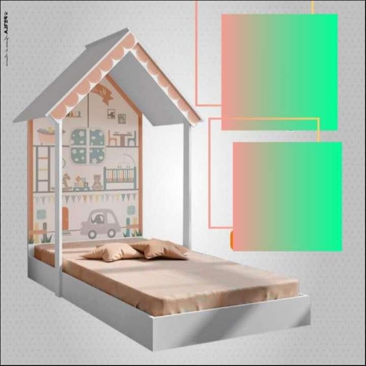 Mini cama Montessoriana Home. - 0