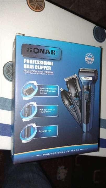 Afeitadora 3 en 1 Sonar - 0