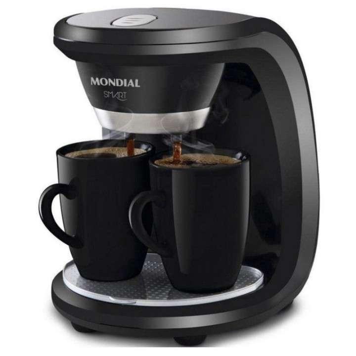 Cafetera smart para 2 tazas Mondial - 0