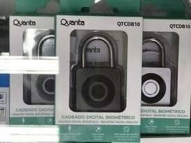 Candado Digital Biométrico Quanta