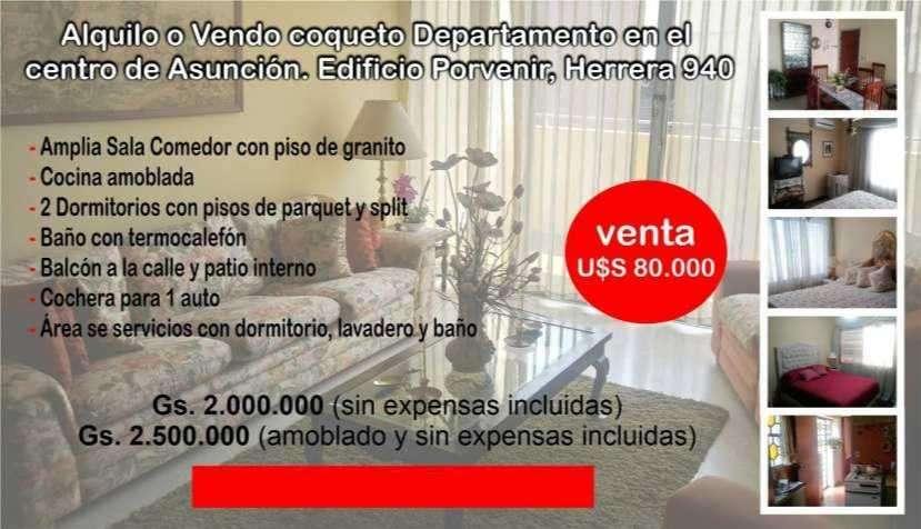 Departamento en el centro de Asunción - 0