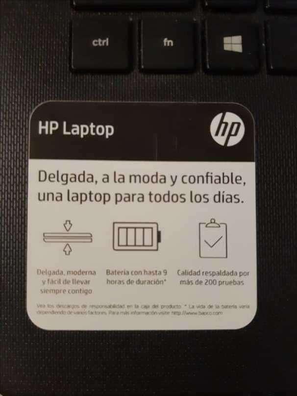 HP Laptop 14-cm0001la - 2