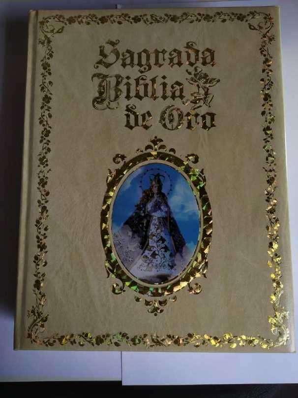 Biblia Sagrada de Oro - 0