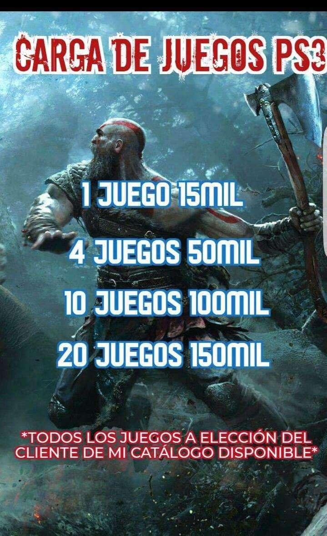 Carga de juegos para PS3 - 0