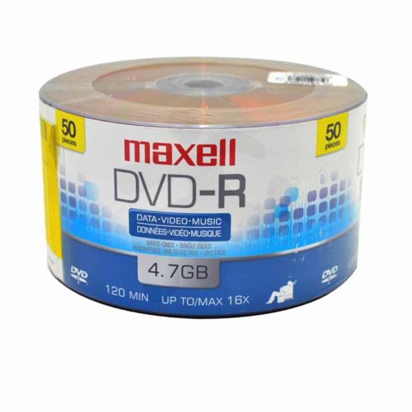 DVD virgen Maxell 4.7 GB - 0