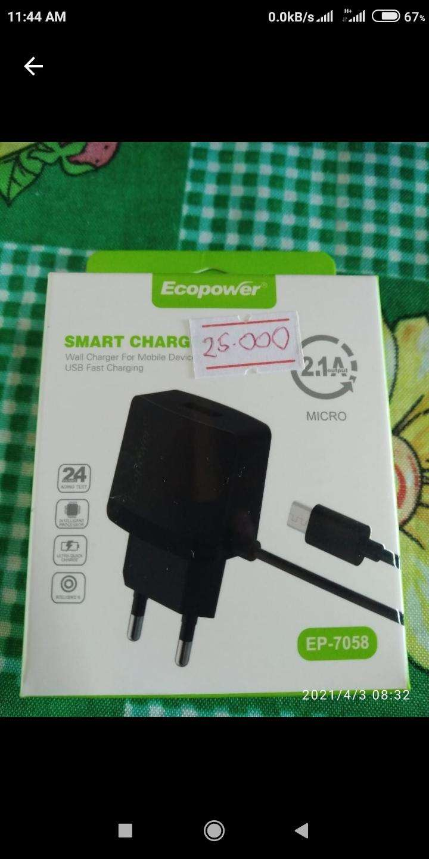 Cargador Ecopower micro USB - 0