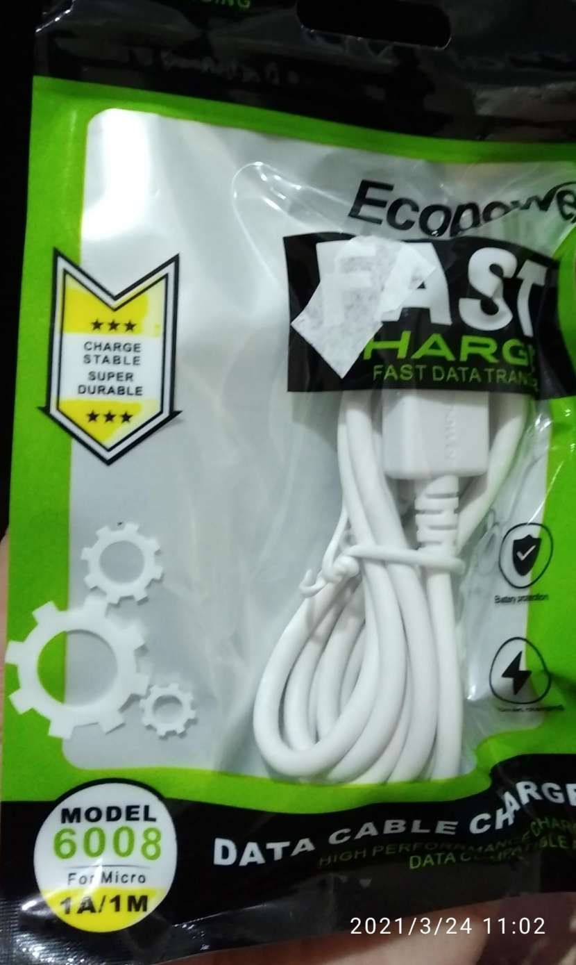 Cable Ecopower micro USB - 0
