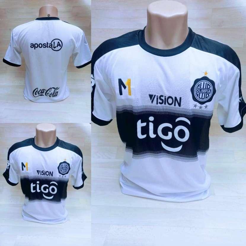 Camisetas de Cerro y Olimpia talle P M G y GG - 0