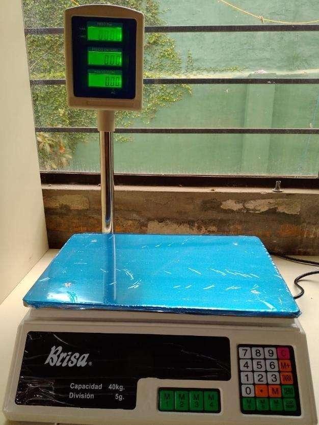 Balanza digital con torre - 0