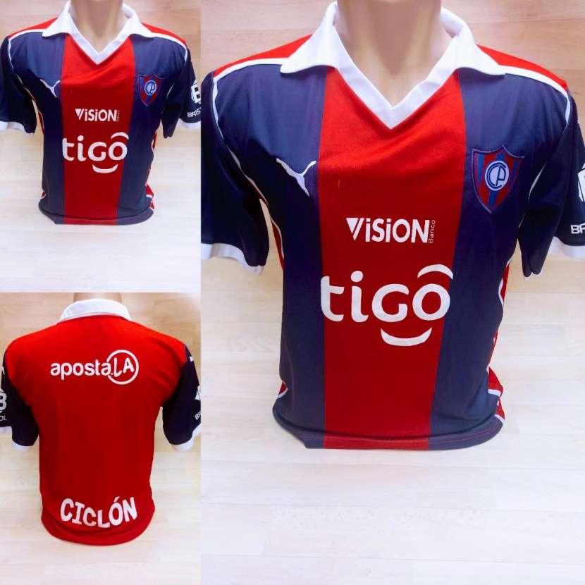Camisetas de Cerro y Olimpia talle P M G y GG - 2