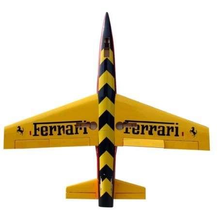 Avión jet piloto dolphin 71 con control remoto - 3