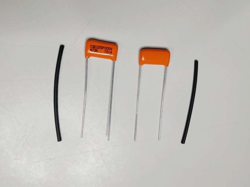 Capacitor para tono de guitarra y bajo eléctrico - 0