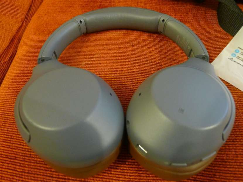 Auricular Sony WH-XB900N Bluetooth Extra Bass pads Geekria - 4