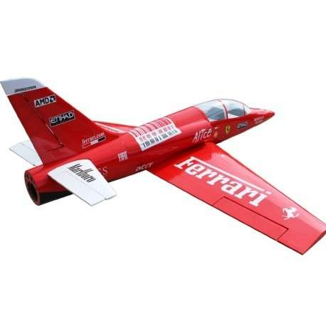Avión jet piloto dolphin 71 con control remoto - 1