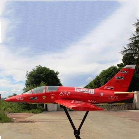 Avión jet piloto dolphin 71 con control remoto - 2