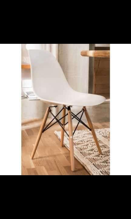 Sillas Eames blanco - 0