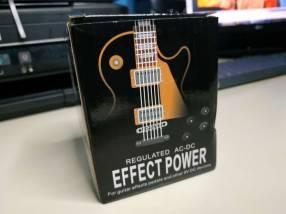 Transformador 9V 1A para 5 pedales de guitarra eléctrica
