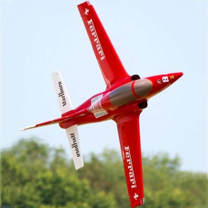 Avion jet legend viper ferrari control remoto - 2