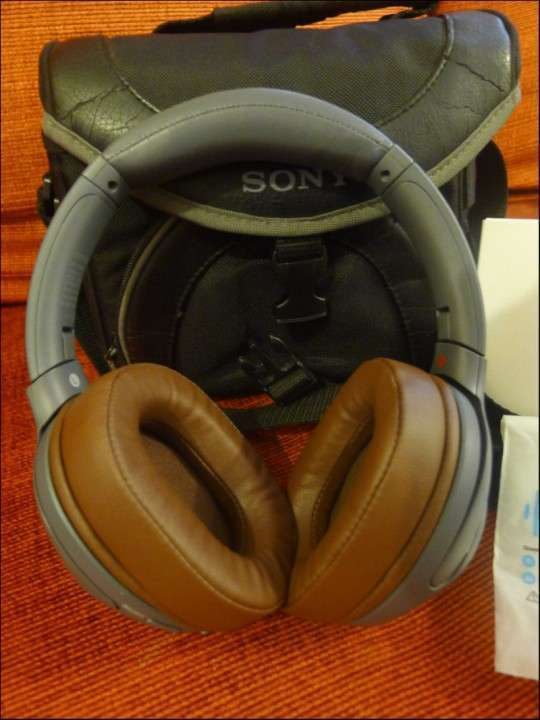 Auricular Sony WH-XB900N Bluetooth Extra Bass pads Geekria - 3