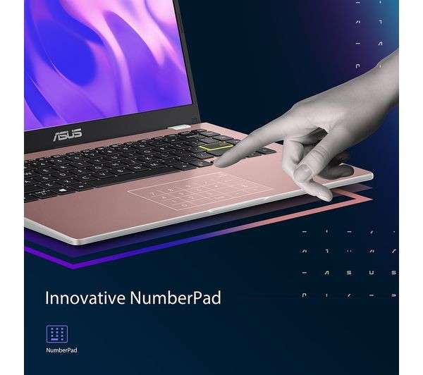 Notebook Asus E410-MA Gold Rose - 2